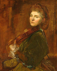 Wilma Neruda by George Frederick Watts (1817-1904)
