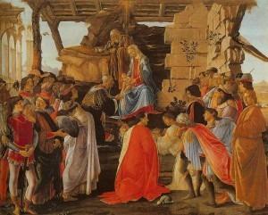 Botticelli: Adoration of the Magi