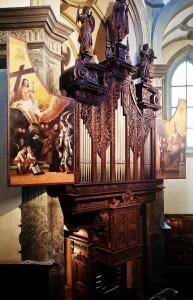 Franziskaner Kirche – Vienna's Oldest Organ built in 1642 –restored by Wolfgang Rehn