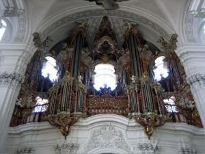 Gabler Organ in Weingarten, Germany restored by Wolfgang Rehn