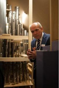 Organ Builder Wolfgang Rehn in Trondheim, Norway