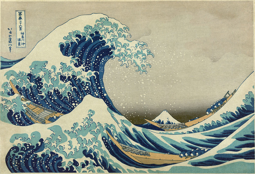 Music and Art: Hokusai