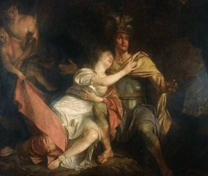 'Aeneas and Dido' by Pierre LacourCredit: http://cultured.com/
