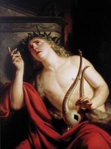 'The Lament of Orpheus' by Franc KavčičCredit: Wikimedia