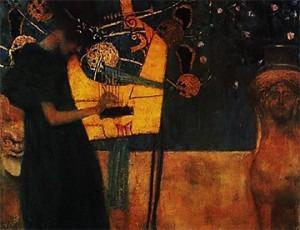 Gustav Klimt (1862-1918), Music, 1895
