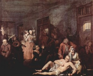 Hogarth: A Rake's Progress No. 8