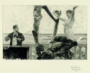Max Klinger – Brahms Fantasy, 1894