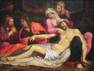 'The Lamentation of Christ' by Abraham Janssen van Nuyssen, Dayton Art InstituteCredit: Wikimedia