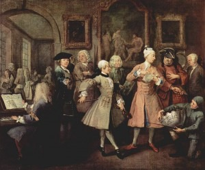 Hogarth: A Rake's Progress No. 2