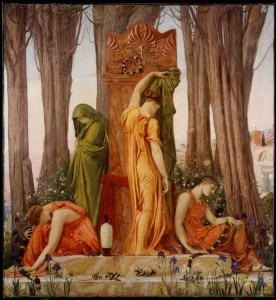 William Blake Richmond. Electra at the Tomb of AgamemnonCredit: http://www.ago.net/