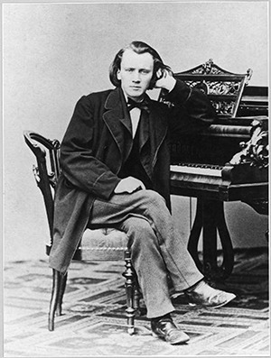 Arranged by Brahms