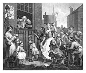 Hogarth: The Enraged Musician