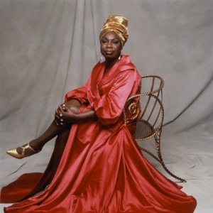 Nina Simone in Pink Dress and Gold TurbanCredit: https://hulshofschmidt.files.wordpress.com/