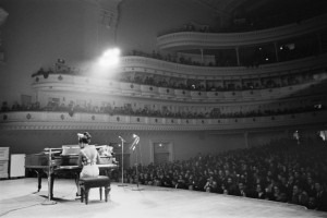 Nina Simone performed at the Carnegie Hall