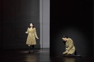 Nadia Kichler (Shadow Leonore), Adrianne Pieczonka (Leonore)Credit: Salzburger Festspiele / Monika Rittershaus