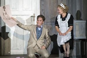 Margarita Gritskova (Cherubino), Martina Janková (Susanna)Credit: Salzburger Festspiele / Ruth Walz