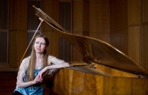 Christina Kobb learned a 19th-century piano technique that forced her to hold her body differently, producing a more fluid and subtle sound. Credit Fredrik Solstad for The New York Times