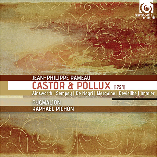 Ensemble Pygmalion and Raphaël Pichon - Rameau Castor et Pollux - Artwork