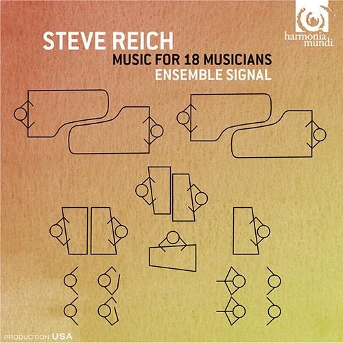 Ensemble Signal - Steve Reich Music for 18 Musicians - Artwork