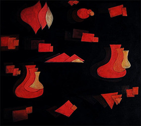 Paul Klee (1879-1940), Fugue in Red, 1921/69