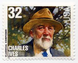 Charles Ives<br/> Bold print giveth and the fine print taketh away!