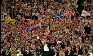 Elgar's Pomp and Circumstance March, a fixture at the Last Night of the Proms, but a work disliked by its composer. Photograph: Dan Chung/Guardian