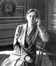Nadia Boulanger, Paris, 1936.Credit: http://www.colorado.edu/