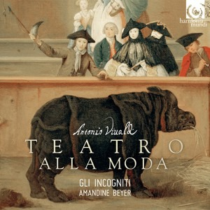 Amandine Beyer and Gli incogniti - Vivaldi Teatro alla moda - Artwork