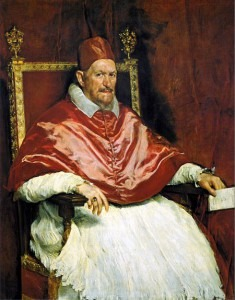 Bacon: Study after Velázquez's Portrait of Pope Innocent X (1953)