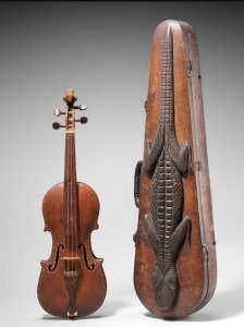 lizard violin case