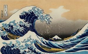 Hokusai – The Great Wave (1823-29)