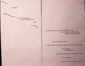 UN COUP DE DÉS JAMAIS N'ABOLIRA LE HASARD (pages 3 and 4)