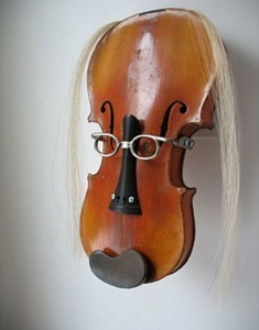 Violin face