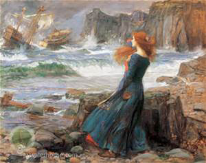 Miranda - John William Waterhouse