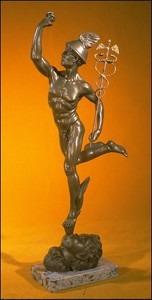 The Roman god Mercury