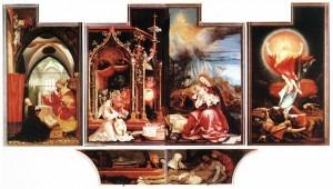 Isenheim altarpiece open