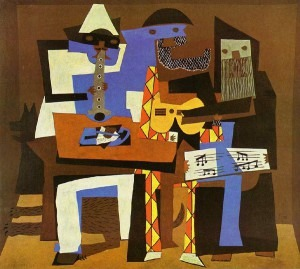 Picasso: Three Musicians (1921)