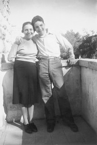 Raphael and his mother Alice Herz-Sommer in JerusalemPhotograph: Archiv Chaim Adler