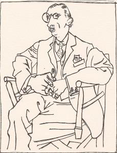 Stravinsky by Picasso