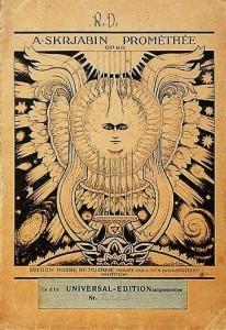 Title Page For Scriabin's – Symphonie Prométhée