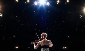 'Everyone has their own symptoms … string players talk about their bows shaking.' Photograph: Thomas Barwick/Getty Images