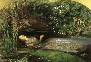 Ophelia by John Everett Millais (1829-1896)