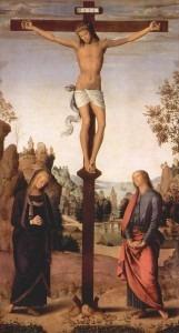 Perugino: Mary at the Cross (1482)