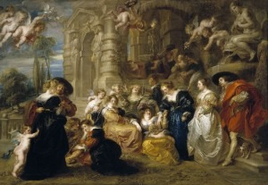 """""""The Garden of Love"""" by Rubens"""