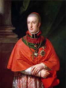 Rudolf von Habsburg-Lothringen by Johann Baptist von Lampi the Elder