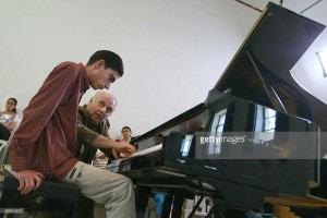 Daniel Barenboim givig masterclassCredit: http://media.gettyimages.com/