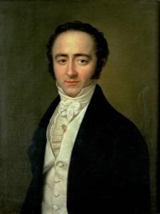 Franz Xaver Mozart (1825) by Karl Gottlieb Schweikart