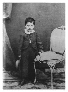 Gustav Mahler in 1865