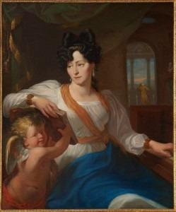 Painting by Walenty Wańkowicz (1799-1842 in Paris) a Polish painter of Belarusian origin.