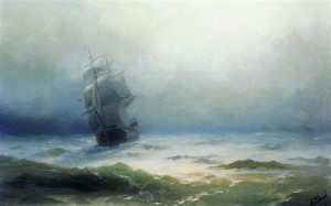 The Tempest by Ivan Aivazovsky Credit: http://www.wikiart.org/
